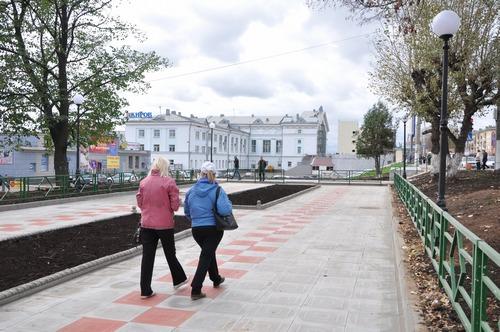 Сквер на Комсомольской