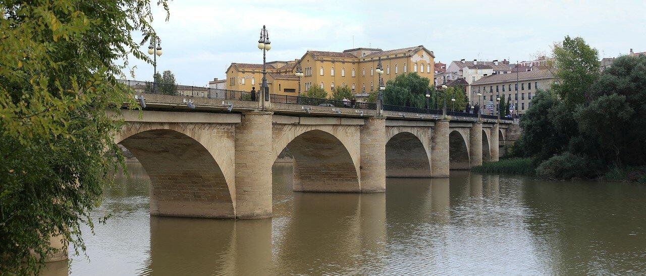 Логроньо. Каменный мост (Puente de Piedra)