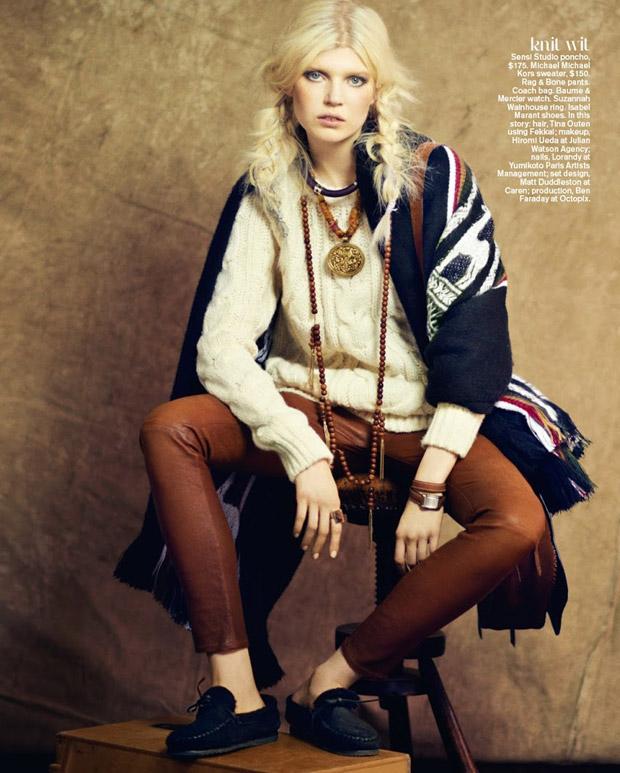Ола Рудницка (Ola Rudnicka) в журнале Teen Vogue