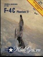 Книга F-4C Phantom II. Post Vietnam markings 1974-1984. (C&M №3)