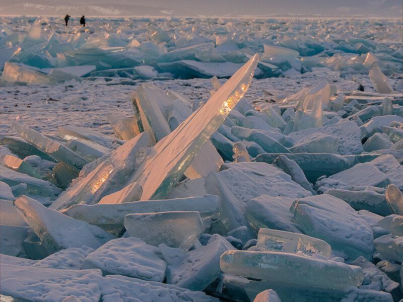 Вечерний лёд