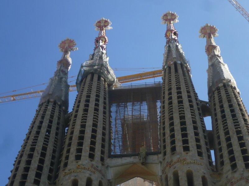Барселона, церковь Святого Семейства (Barcelona, Sagrada Familia)