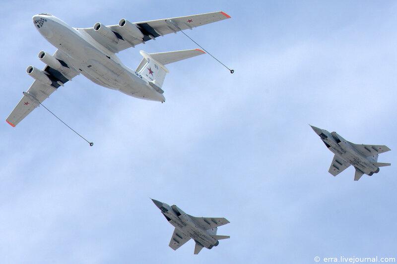 Дозаправка. МиГ-31