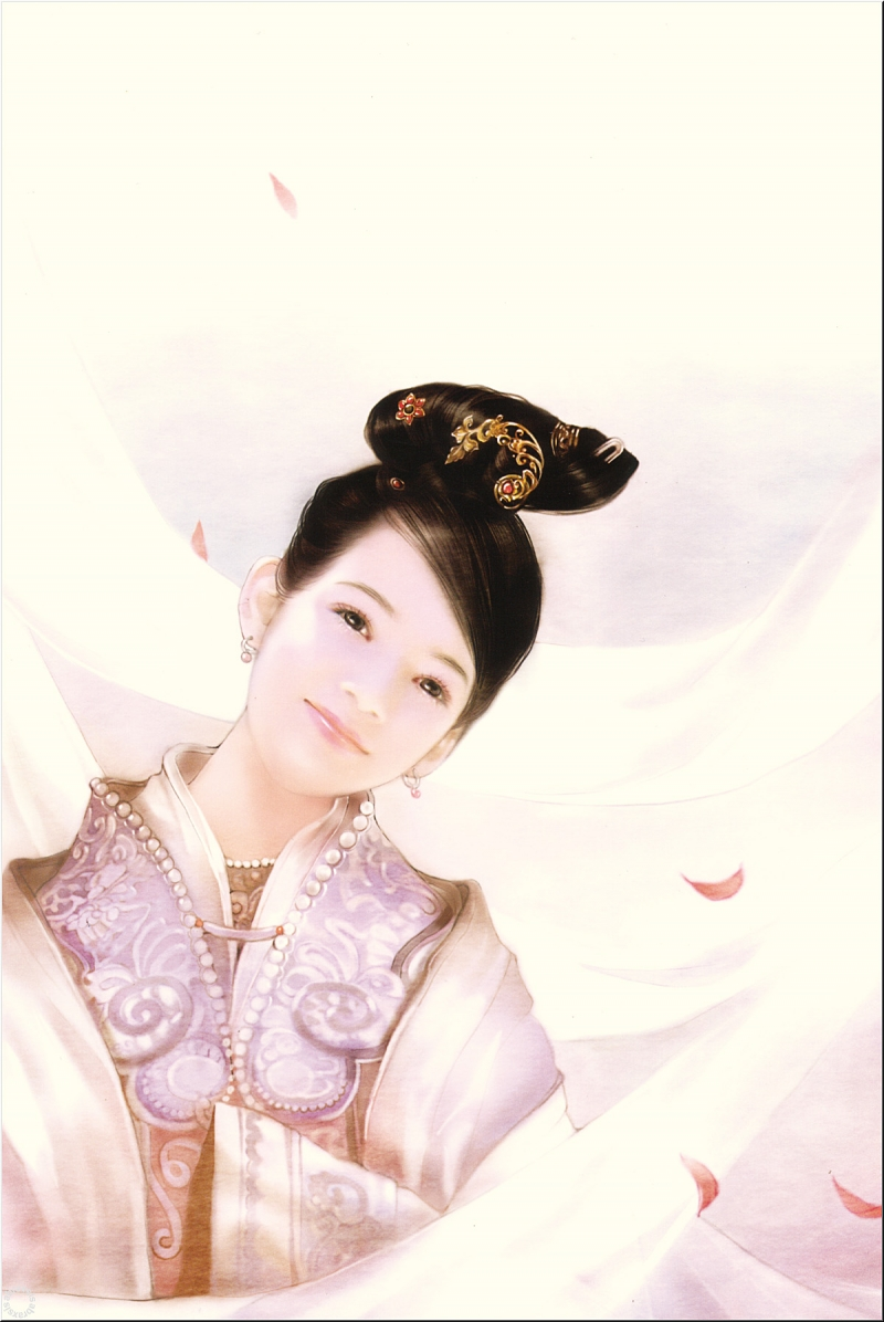 Японка на качели 8 фотография