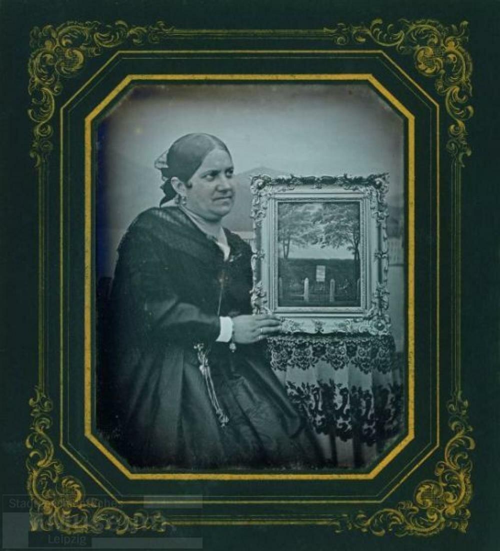 1845-1847. Портрет Полины фон дер Бек, урожденная Грасси (1805-1871). Германия