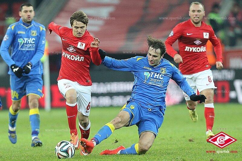 «Спартак» vs «Ростов» 1:1 Премьер-лига 2014-2015 (Фото)