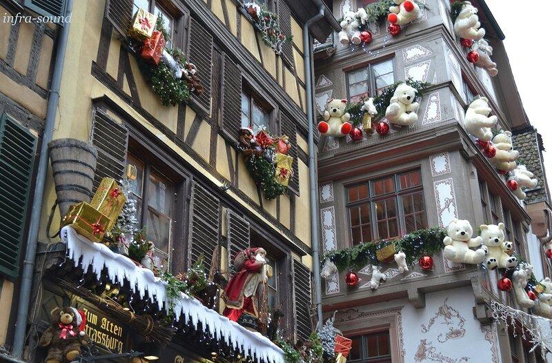 Город - сказка. Рождественский Страсбург