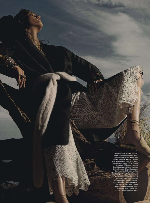 Роня Феррер (Ronja Furrer) в журнале Vogue Australia