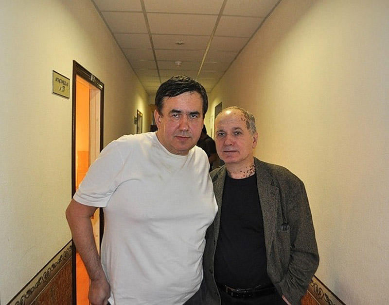 12. великий блогер (без иронии) Садальский и великий фотограф Плотников