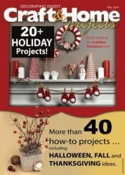 Журнал Decorating Digest Craft & Home Projects – Fall 2014
