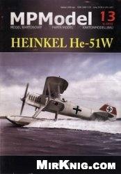 Журнал Heinkel He-51W (MPModel №13)