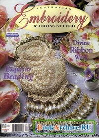 Журнал Australian Embroidery and cross stitch.