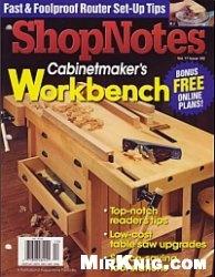 Журнал ShopNotes №102 2008