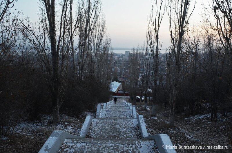 На закате дня, Саратов, 10 декабря 2014 года
