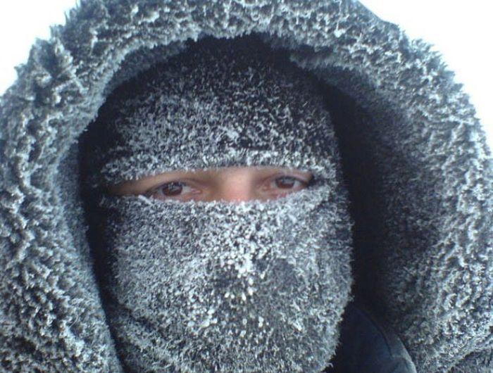 фото вахтовика из Сибири