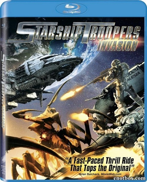 Звездный десант: Вторжение / Starship Troopers: Invasion (2012/BDRip/HDRip)