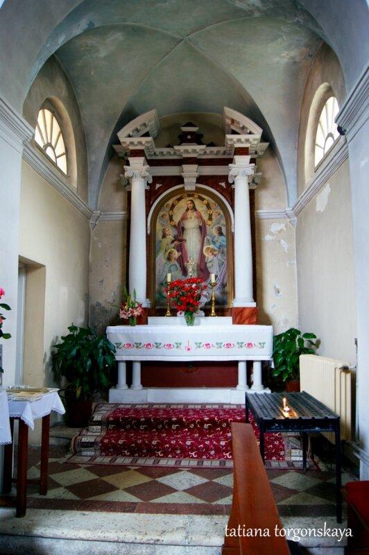 В церкви Святого Антона