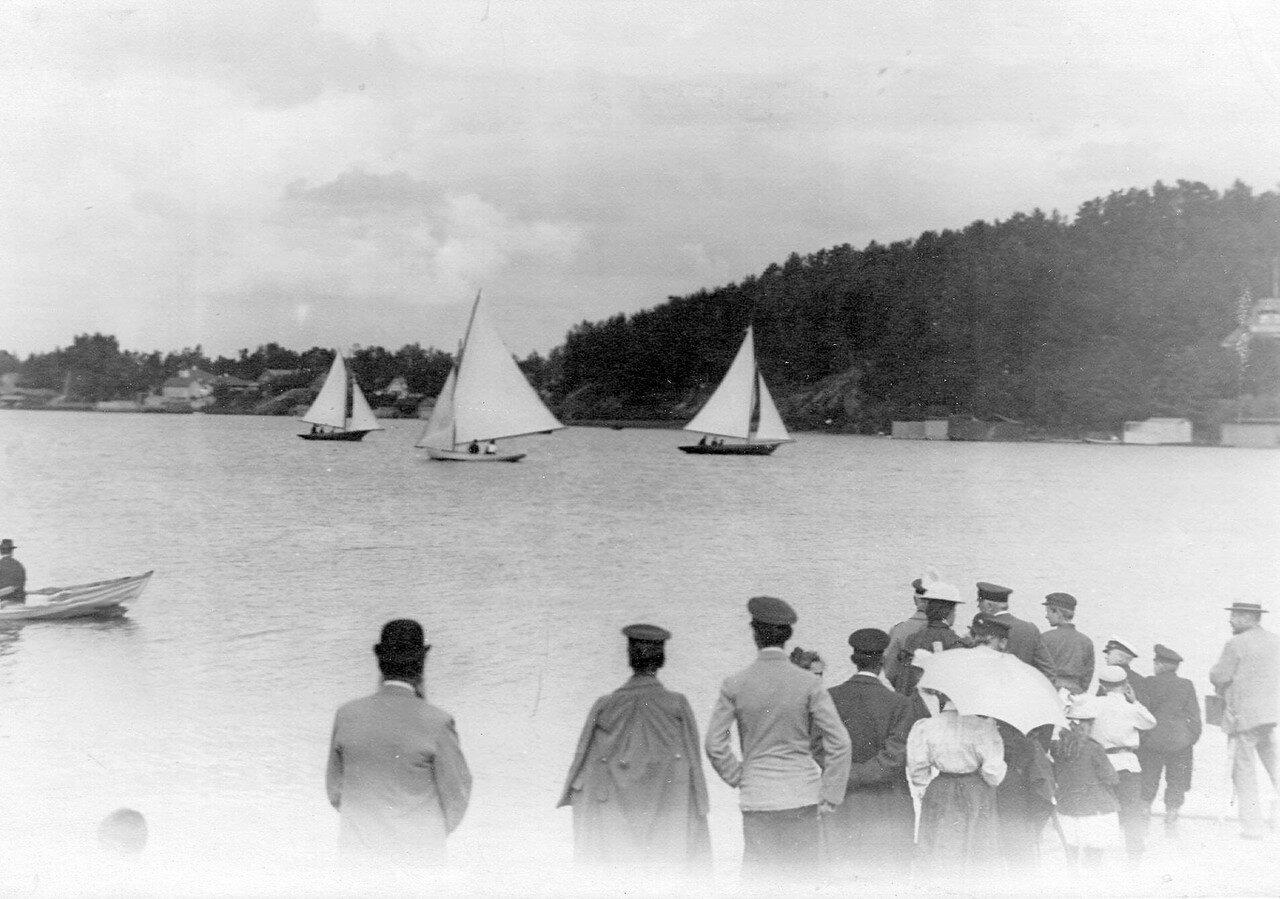 04. Яхты во время соревнований