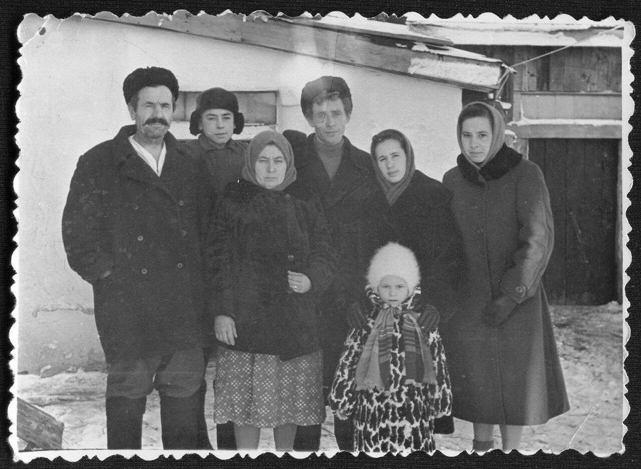 Северный Казахстан. Начало 1960-х