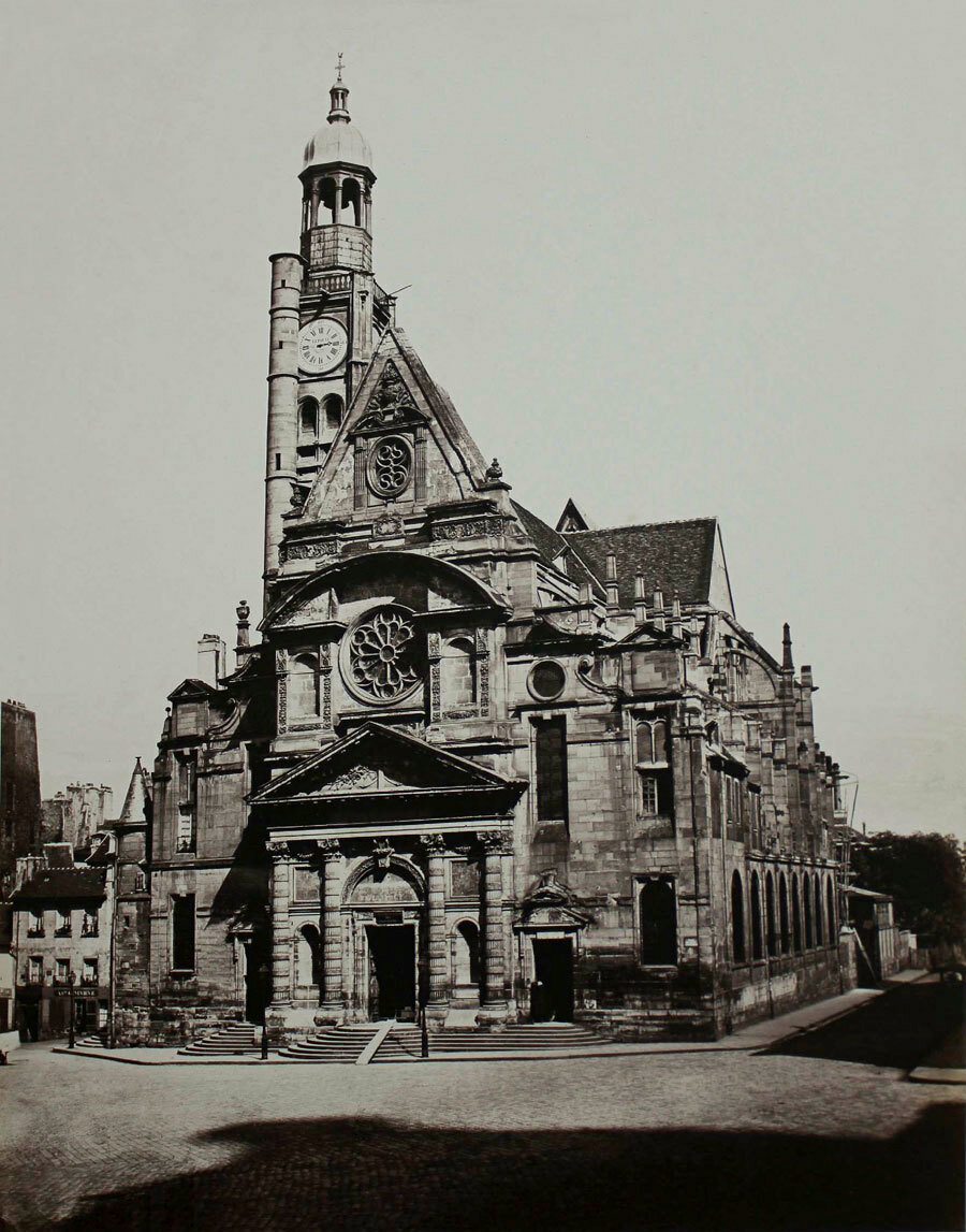 1858. Сент-Этьен-дю-Мон