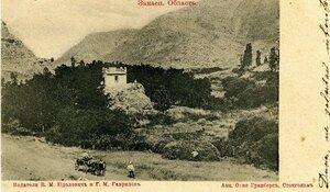 Окрестности Асхабада. Вид Фюризы