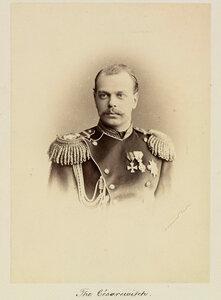 Цесаревич Александр, будущий император Александр III (1845-1894). 1873