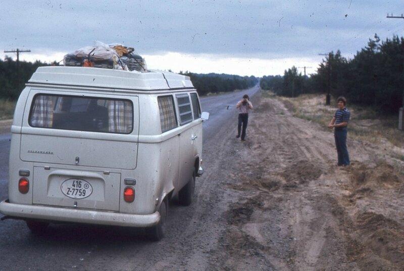 Автомобиль Кубаш под Харьковом.