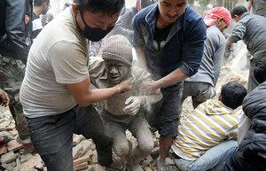 В Непале число жертв от землетрясения превысило 3 тысячи