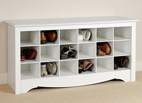 Практичные и простые идеи для дома - храним обувь
