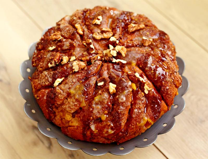 Ореховый пирог - пошаговый рецепт с фото #5.