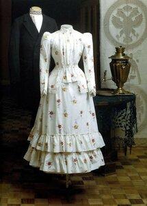 русский городской костюм