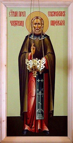 Святой Преподобный Севастиан Сохотский, Пошехонский.