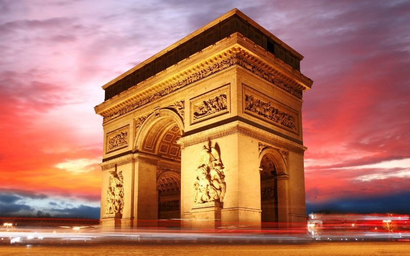 Франция триумфальная арка