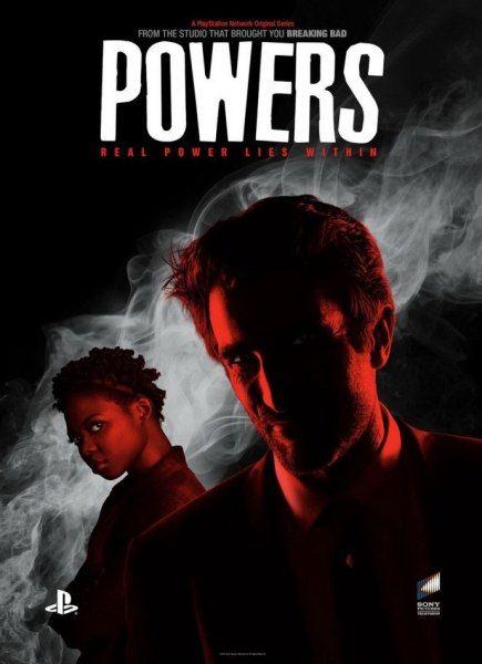 ���������������� /  Powers (1 �����/2015/WEB-DLRip / WEBDL 720p)