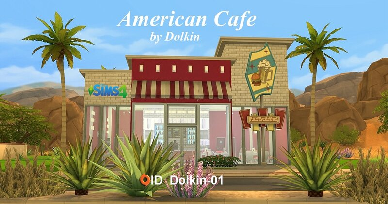 American cafe by Dolkin