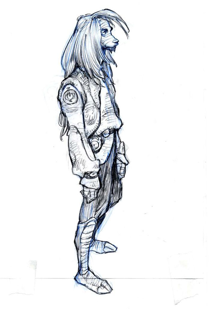 Iain McCaig - концепт-художник, иллюстратор, сценарист  и преподаватель