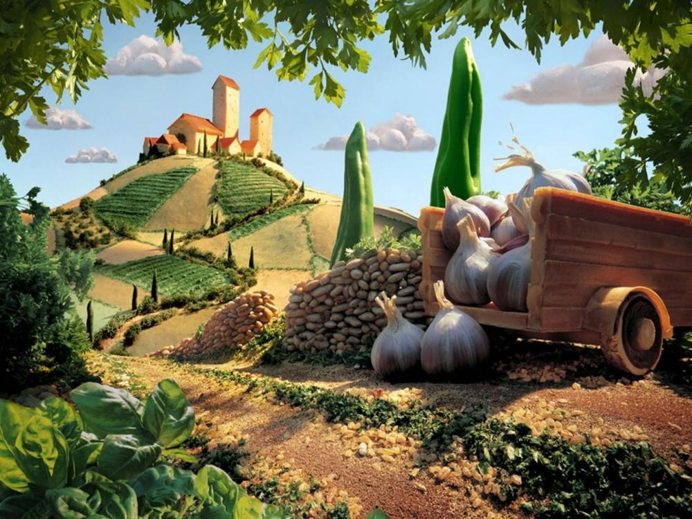 14. Тосканский пейзаж