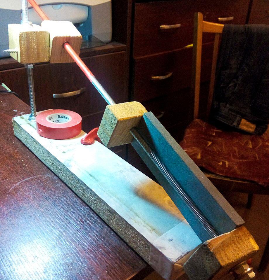 Технология заточки строгальных ножей в быту