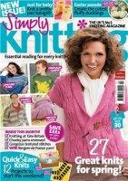 Журнал Simply Knitting 2010/ April jpg 108Мб