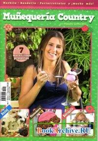 Книга Munequeria Country por Alejandra Sandes Ano 1 №1 2013.