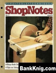 Журнал ShopNotes №12 (1993) pdf 22,1Мб