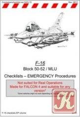 Книга F-16 Block 50-52 / MLU Checklists - Emergency Procedures