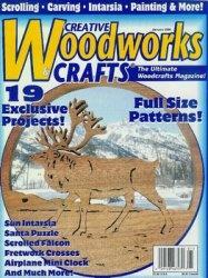 Журнал Creative Woodworks & Crafts - №1 2000