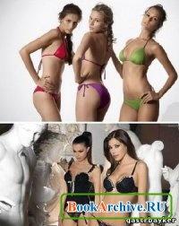 Книга 50 Sexy Bikini and Lingerie Girls Wallpapers