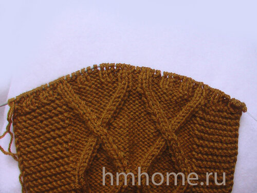 Мастер-класс по вязанию снуда с завязками
