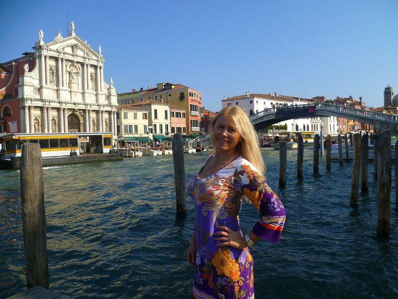 Италия, Венеция - церковь Скальци (Italy, Venice - Scalzi)