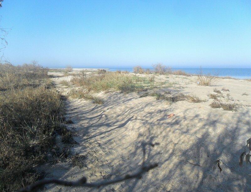 Ноябрь, Азовское побережье, велопоход, 2014 год