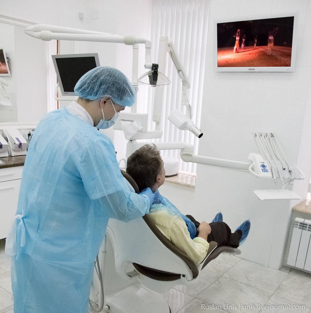 Установка имплантата