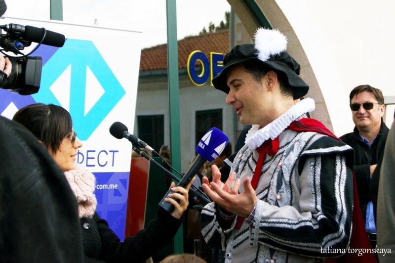 Миомир Мараш - ведущий фестиваля