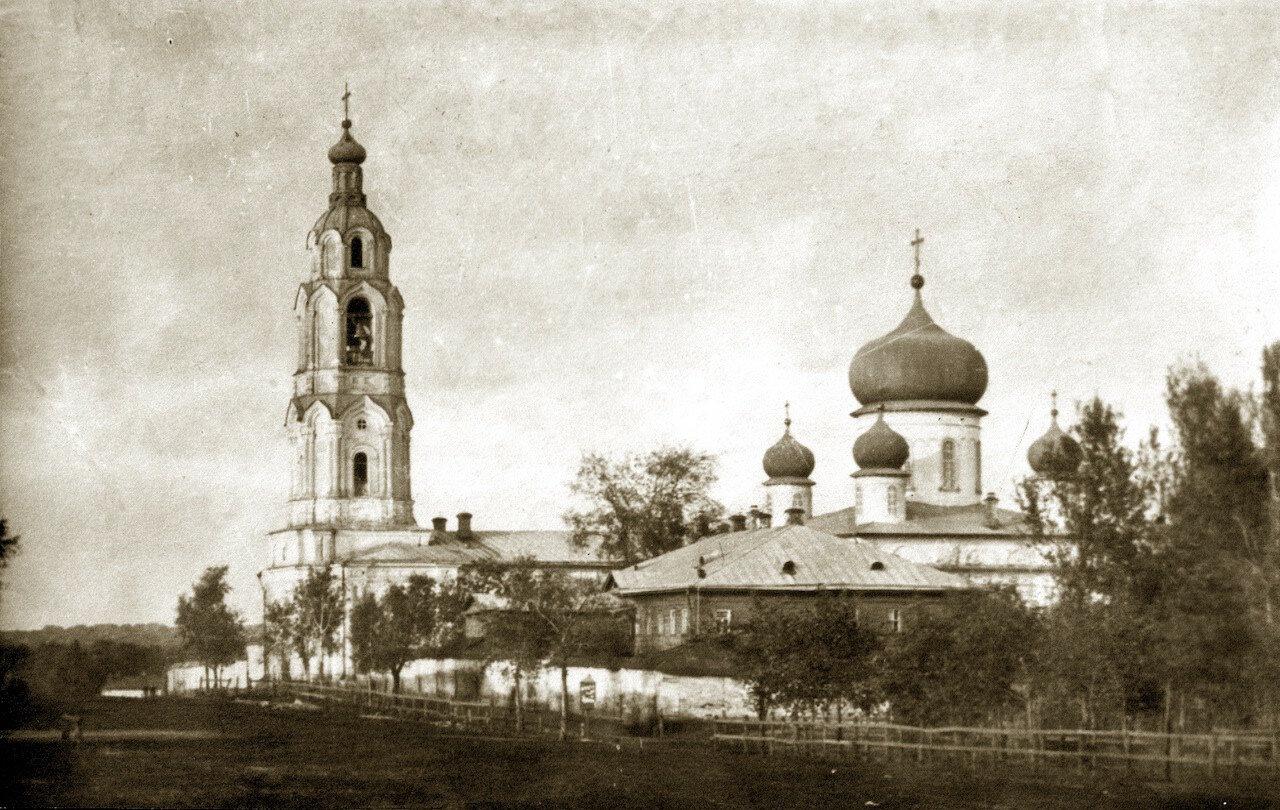 Церковь Тихвино-Богородицкого монастыря. 1911